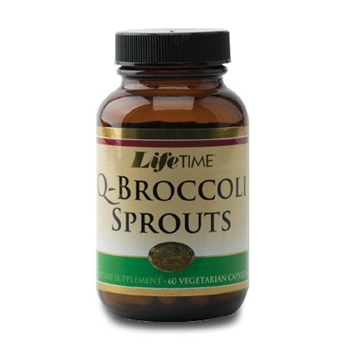 Lifetime QBroccoli Sprouts Kapsül